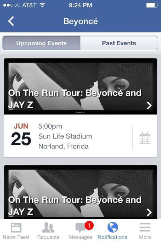Live Nation Entertainment Partners With Facebook To Launch Official Events