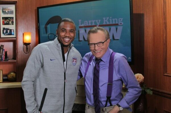 Trey Songz Talks Musical Influences with Larry King