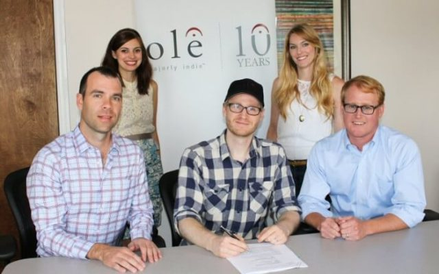 Ole Signs Deal With Songwriter/Producer Jason Massey