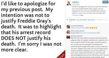 Radio DJ Suspended Due to Freddie Gray Social Media Post 2