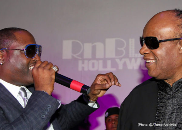 The Stars Were Out for Stevie Wonder's Surprise Birthday Party 5