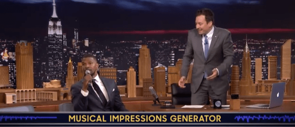 Jamie Foxx Delivers Amazing Musical Impressions with Jimmy Fallon