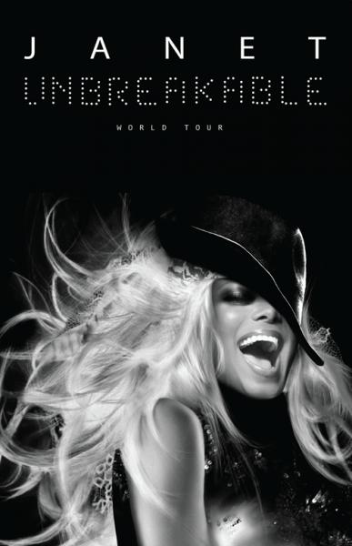 Janet Jackson Announces World Tour - Unbreakable!