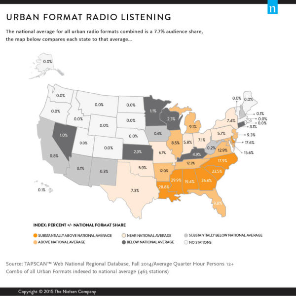 Nielsen: Mapping Radio's Reach with Black and Hispanic Consumers 1