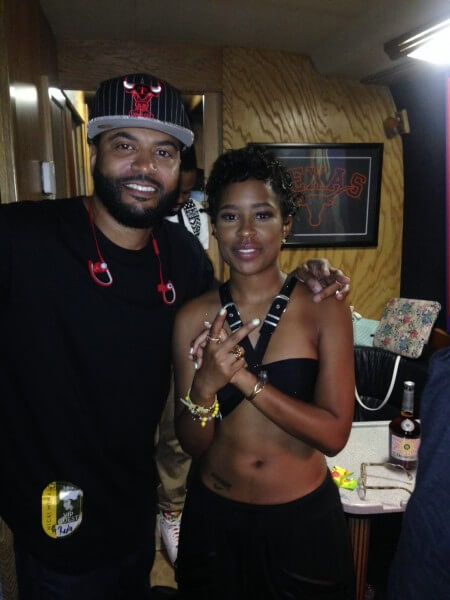LOOK! It's Dej Loaf and Power 92 Chicago's Shagg