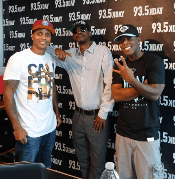 LOOK! It's LA's New Morning Duo the GoodFellas with Kurupt