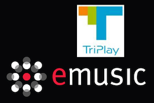 Personal Cloud Company, TriPlay Acquires eMusic