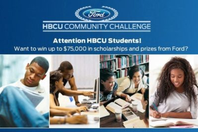 Ford, Tom Joyner, and Rickey Smiley Come Together to Challenge HBCU Students