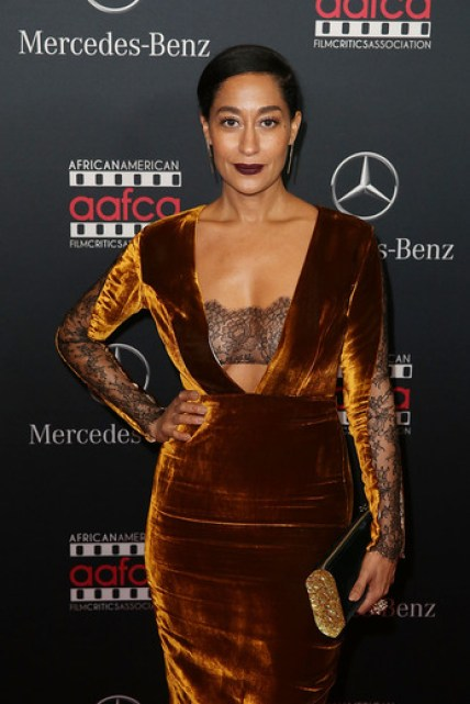 Tracee Ellis Ross at the MERCEDES-BENZ & AAFCA Oscar Viewing party in Hollywood
