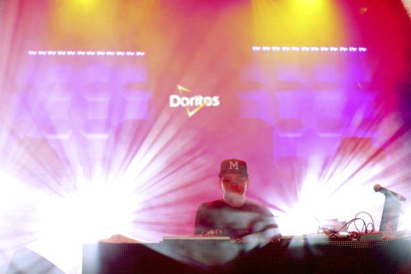 Mix Master Mike performs at the Doritos #MixArcade at E3 on Thursday, June 16, 2016 in Los Angeles. (Photo by Matt Sayles/Invision for Doritos/AP Images) (PRNewsFoto/Frito-Lay North America)