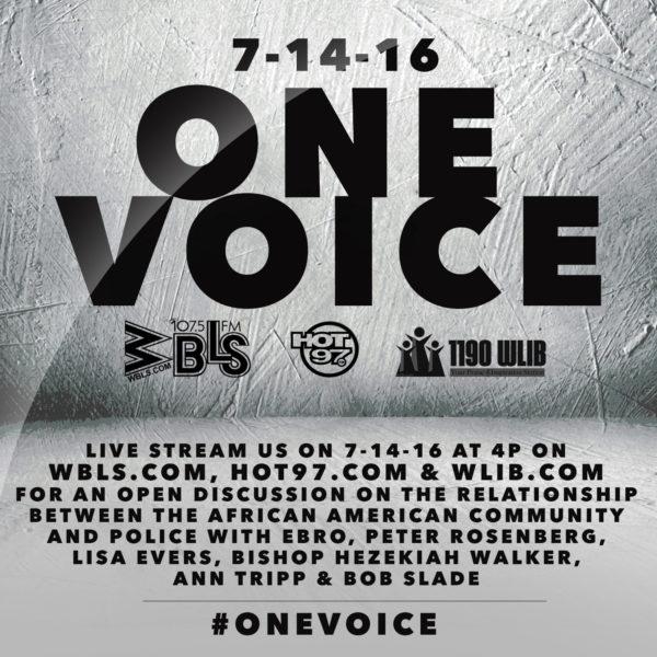 One Voice 07 14 16