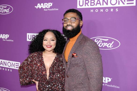 Dana Chanel and Prince Donnell at the URBAN ONE HONORS on Thursday, December 5, 2019 in Oxon Hill, MD at the MGM National Harbor.