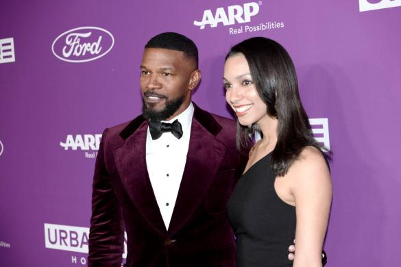 Jamie Foxx and Corinne Foxx at the URBAN ONE HONORS on Thursday, December 5, 2019 in Oxon Hill, MD at the MGM National Harbor.