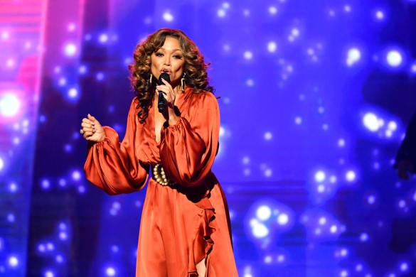 Chante Moore at the URBAN ONE HONORS on Thursday, December 5, 2019 in Oxon Hill, MD at the MGM National Harbor.