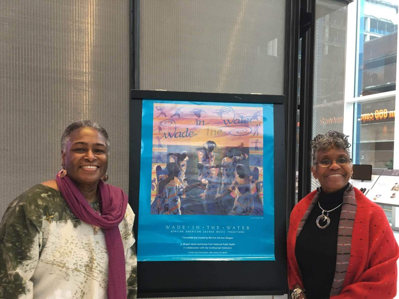 Sonja Williams and Judith Moore Latta of Howard University at NPR - source Howard University.jpg