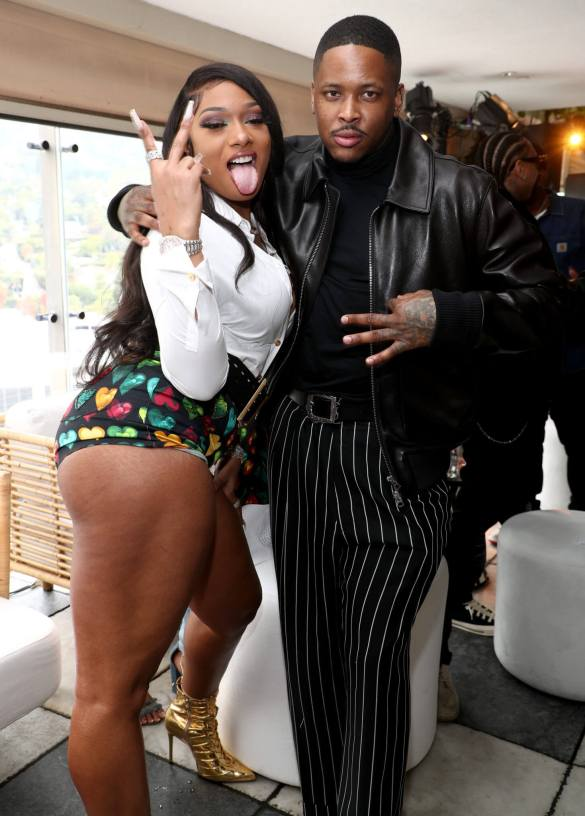 Megan Thee Stallion and YG