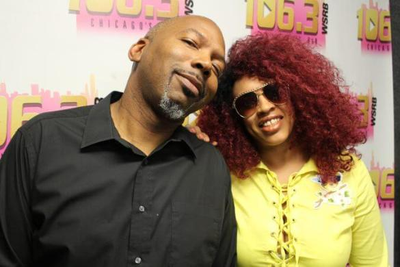 Mike Love and former co host Lady Red