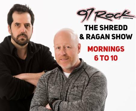 Buffalo Radio Legends Shredd & Ragan Make Big Move to Mornings on CUMULUS MEDIA's 97 Rock/WGRF-FM