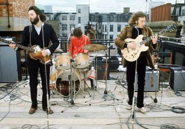 The Beatles - Rooftop Concert - 1969