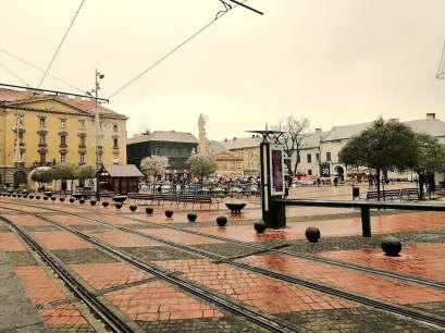 Timisoara: Piata Libertatii, Ianuarie 2020