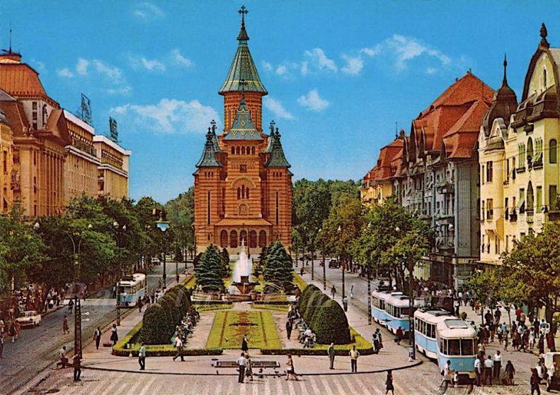 Timisoara - Catedrala 1969
