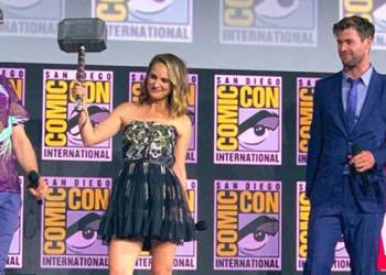thor love and thunder comic con