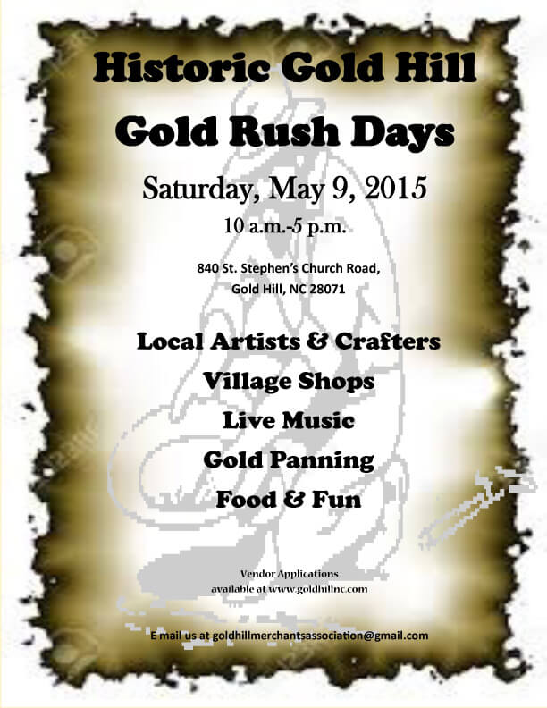 Gold Rush days