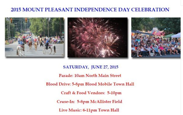 A day of fun and celebration in Mount Pleasant
