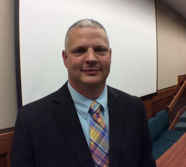 Lt. Daniel Wallace, Kannapolis' newest school board member