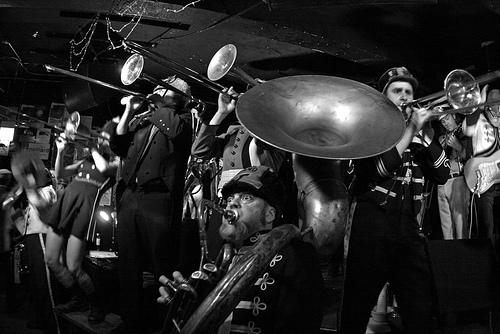 Mucca Pazza play the Tour De Fat this Saturday