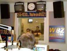 "view from the host's seat, this was about 1997 or '98 on ""the old Friday night show"""