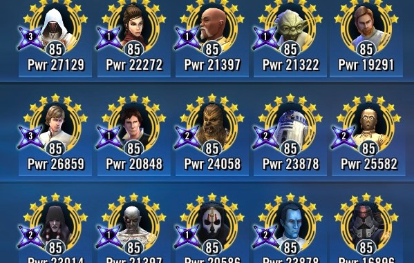 10 Star Wars Galaxy of Heroes Squads You Need to Prioritize
