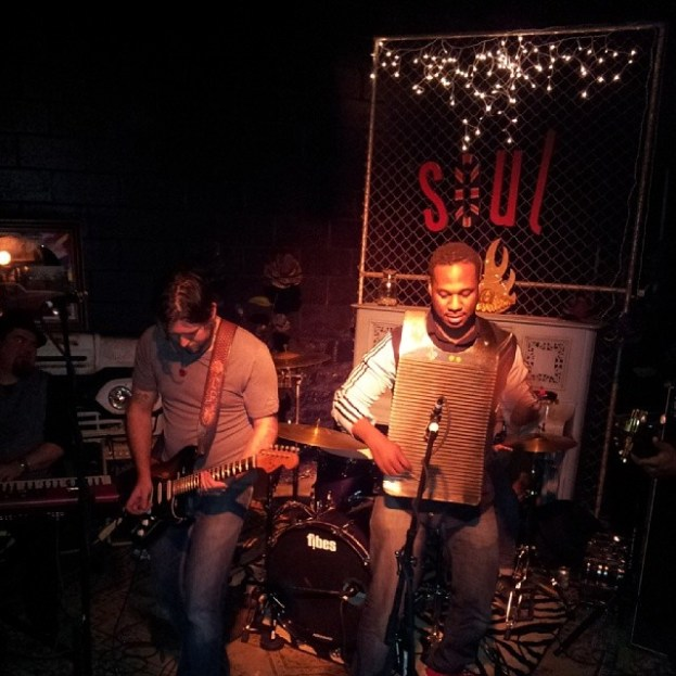 Dustin and Robert Randolf @ Stuidio Soul