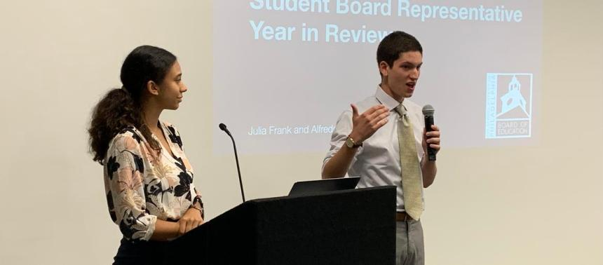 2 student members on Philadelphia's school board wrap up their year on the job 028