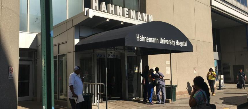 DOH officials meet with Hahnemann just day after ordering 'cease and desist' IMG 4831
