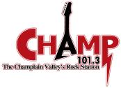 Champ 101.3 WCPV Essex Burlington Plattsburgh 1390 WCAT 1490 WFAD 1420 WRSA ESPN Radio Fox Sports