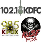 102.1 KDFC San Francisco 90.3 KUSF 89.9 KNDL 98.5 KFOX KUFX Greg Kihn Big Rick Stuart Schmeejay