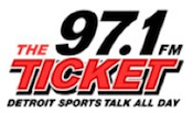 97.1 The Ticket WXYT 950 WWJ University Michigan Detroit CBS 104.3 WOMC Magic 105.1 WMGC 106.7 The Brew Beat WDTW Brian Figula