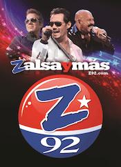 Z92 Zeta 92.3 Z 92 Salsa WCMQ Clasica Hialeah Miami Fort Lauderdale SBS Willy Chirino