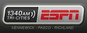 1340 ESPN Radio KJOX KTCR Kennewick Pasco Richland 1390 Yakima 710 Seattle Mariners KIRO