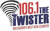 GenX Radio Gen X 106.1 The Twister Tulsa KTGX Country KVOO K95.5 KWEN