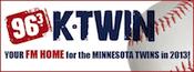 96.3 K-Twin KTwin KTWN Twins Rock Minneapolis Mark Rider Ron Coomer Jason Nagel Rod Simons
