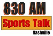 Sports Talk 830 WQZQ Nashville The Light Three Hour Lunch George Plaster 102.5 The Game