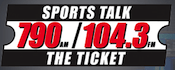 104.3 The Ticket WAXY-FM Miami Miramar West Palm Beach WMSF WEAT-FM