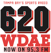 620 WDAE 95.3 Sports Animal Tampa Bay Rays St. Petersburg