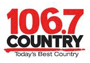 Kix Country 106.7 Kitchener Rogers Y101 101.1 Ottawa Q104 104.3 Sault Ste. Marie 93.5 Kingston