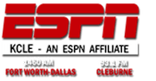 1460 KCLE Burleson Fort Worth ESPN Radio Big Country Scott Van Pelt Colin Cowherd