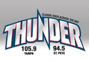 Thunder 94.5 105.9 100.1 Tampa St. Petersburg Clear Channel Reach