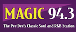 Magic 94.3 The Dam WCMG Florence Classic Soul R&B