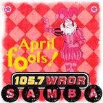Samba 105.7 WROR Spanish April Fools SAP
